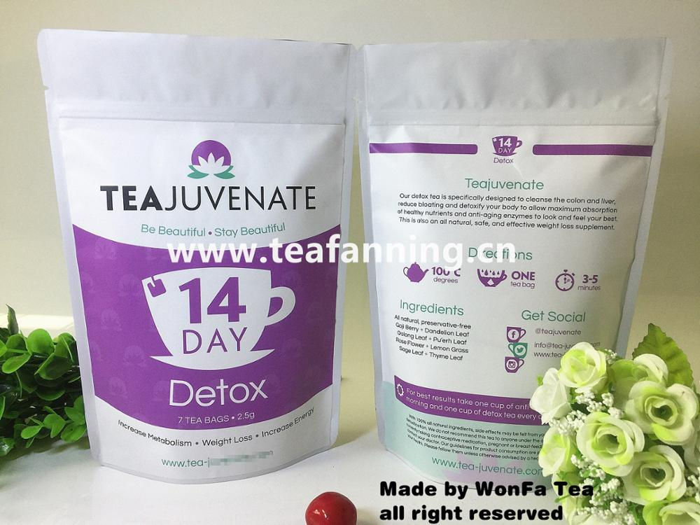 The 14 day Skinny Detox Slim Tea and diet with customized service
