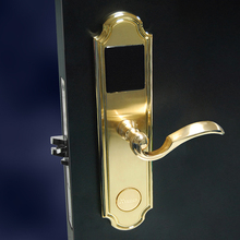 Top brand Gold hotel remote central door locking system,hotel door lock system