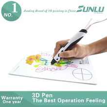 2016 New !! with PLA ABS filament refills Smart 3d printing drawing pen