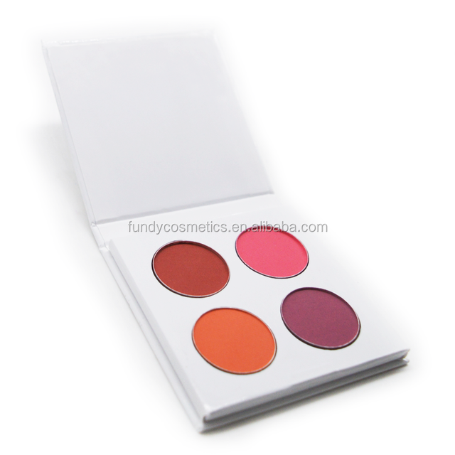 Wholesale Factory price excellent quality 4color empty makeup cosmetic eyeshadow-palette make your own eyeshadow palette