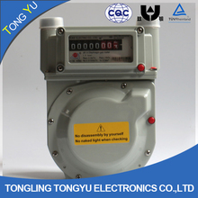 1.6 2.5 household diaphragm gas meter