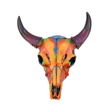 Wholesale Animal Wall Hanging Statues Faux Taxidermy Cow Skull