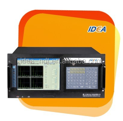 Multi-channel Ultrasonic flaw detector system for pipe and wire