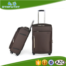 Soft fabric eva 600D material nylon suitcase trolley case luggage
