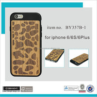 "New Ultra Thin Luxury Wooden Case Cover Engraving Phone Case For Iphone 4.7"" 5.5"" With Scratch proof"