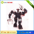 High quality!!! 15 dof humanoid/bipedal robot with metal claws A full set of equipment of teaching education platform