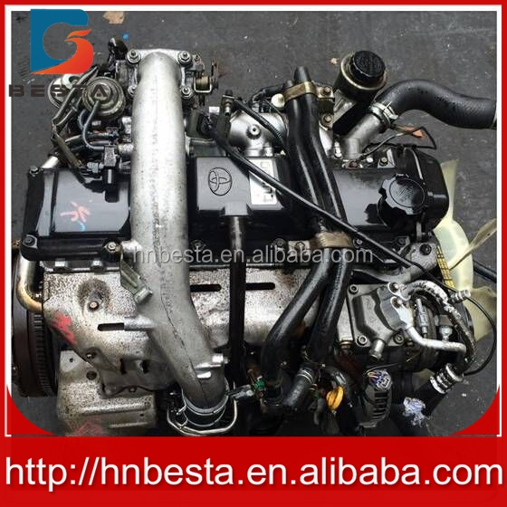 high quality in stcok complete 1KZ diesel engine used motor engine with gear box