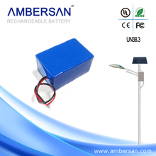 high power solar street light lithium 3s battery