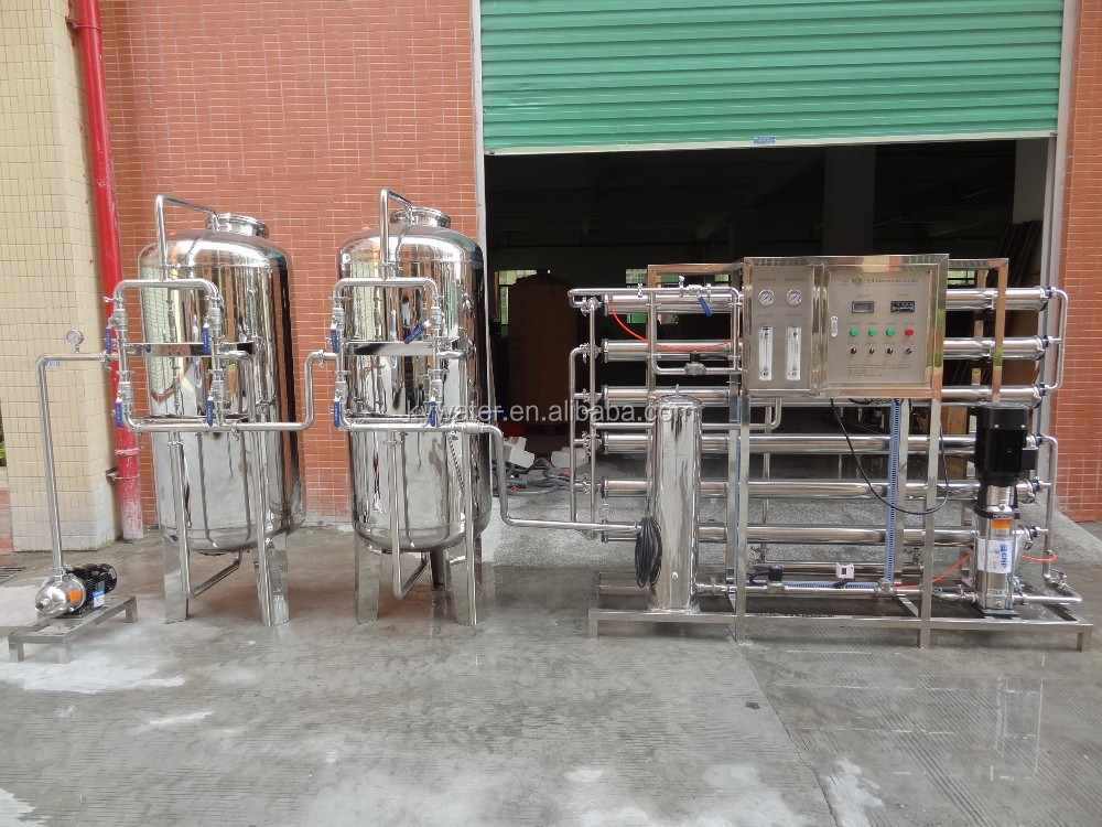 ro system lake water treatment machine /filter system for water purification
