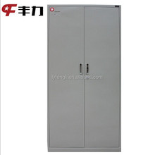 Modern 2 door pantry , steel kitchen pantry cupboard