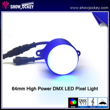 64mm LED DMX Pixel Wall Light SMD 5050 LED Driver Module