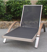 outdoor chaise lounger garden sunbed daybed