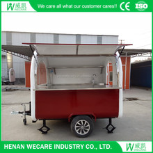Top Quanlity Mobile Fiberglass Enclosed Food Trailer
