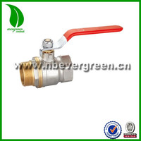 level handle Male female threaded Forged Brass Ball Valve