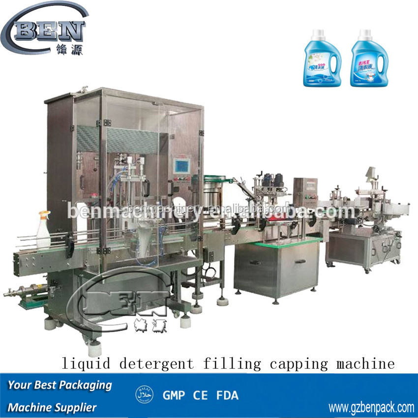 Complete set Salad Oil / Soybean Oil Filling Bottling Line / Machinery