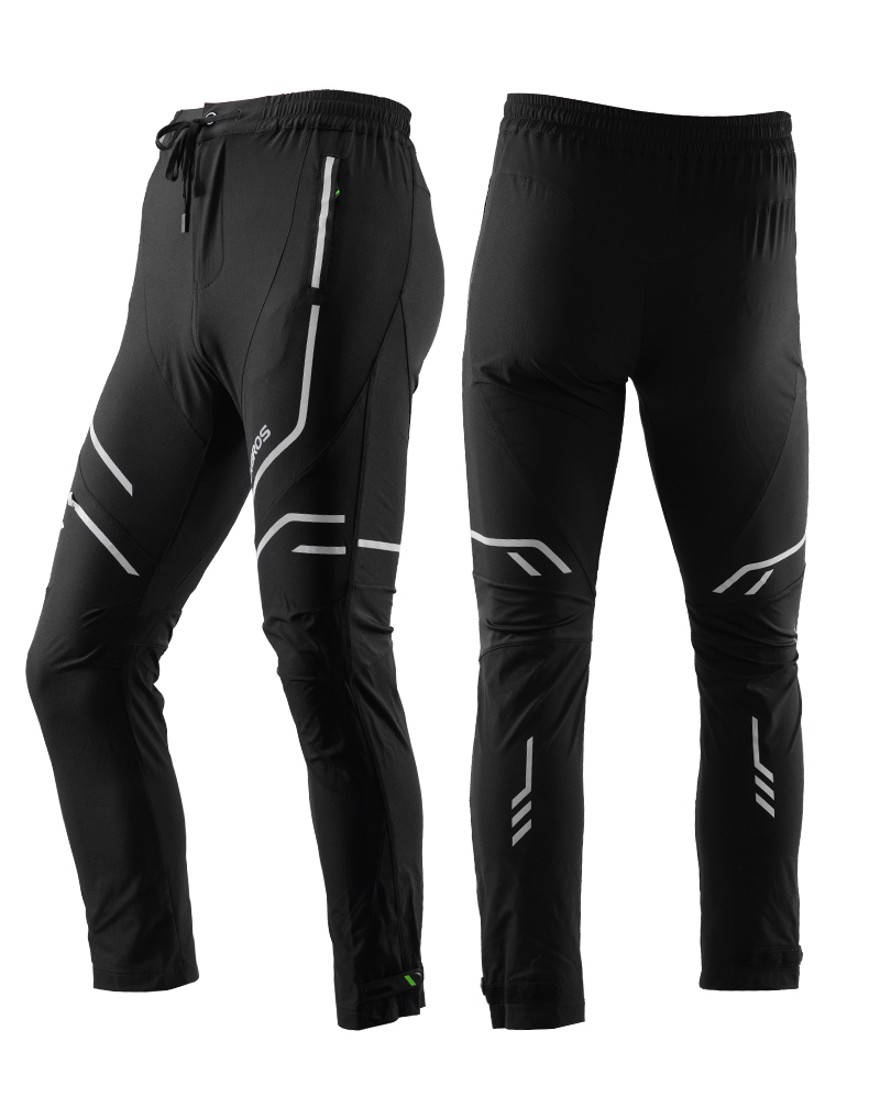 ROCKBROS Windproof Sports Riding MTB Pants Bicycle Breathable Quick Dry Trousers Reflective Cycling Long pants