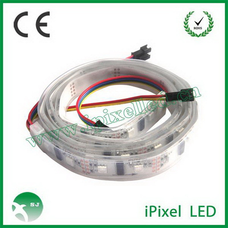 China professional manufacture best sell yellow transparent wire led strip light