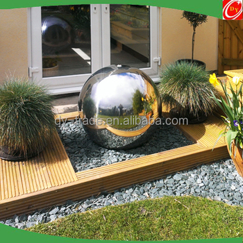 304 Outdoor Stainless Steel Fountain Ball, Mirror Polished Factory Supply