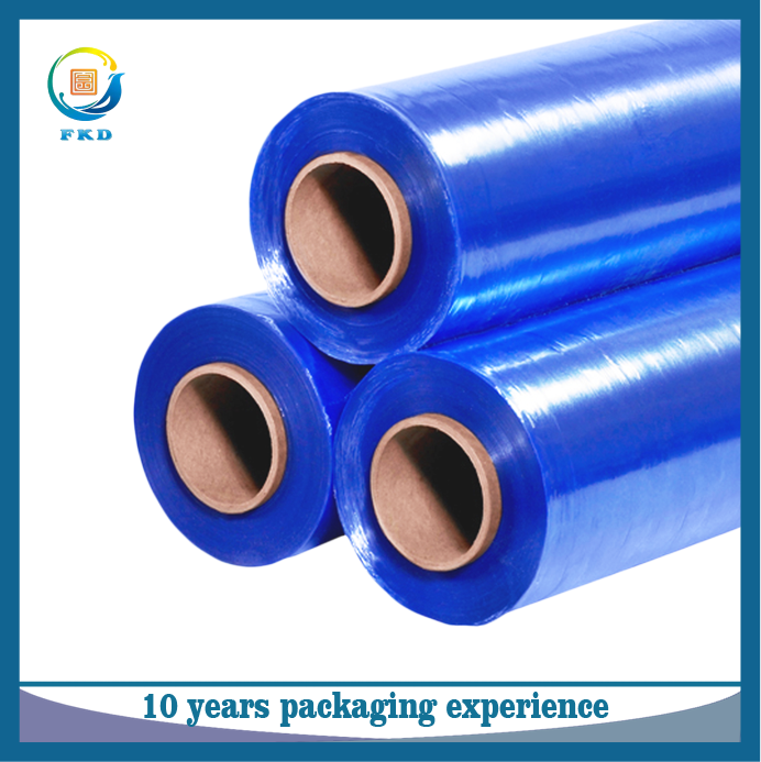 Hot sale blue PVC heat shrink film 100% virgin material PET/POF/PE hot shrink film