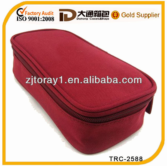 2013 fashional lady cosmetic toilet bag set ISO9001:2008