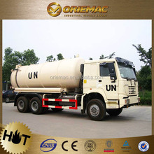 High quality Sinotruk vacuum pump suction sewage truck on alibaba website