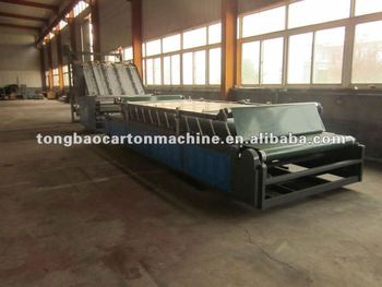 TB semi-automatic laminator carton machine