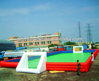 water inflatable football playground pitch (Immanuel)