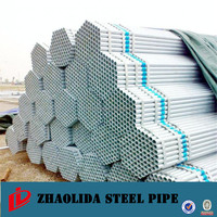 High quality galvanized steel pipe and welded steel pipe for scaffolding / greenhouse used galvanized pipe !!world product class