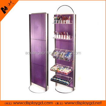 New trend OEM Cosmetic Promoting acrylic Display racks