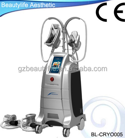 2015 advanced Cryolipolysis vacuum cellulite reduce equipment for beauty spa