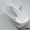 Kingkonree bathtub, shaped bath, freestanding bathtub stone