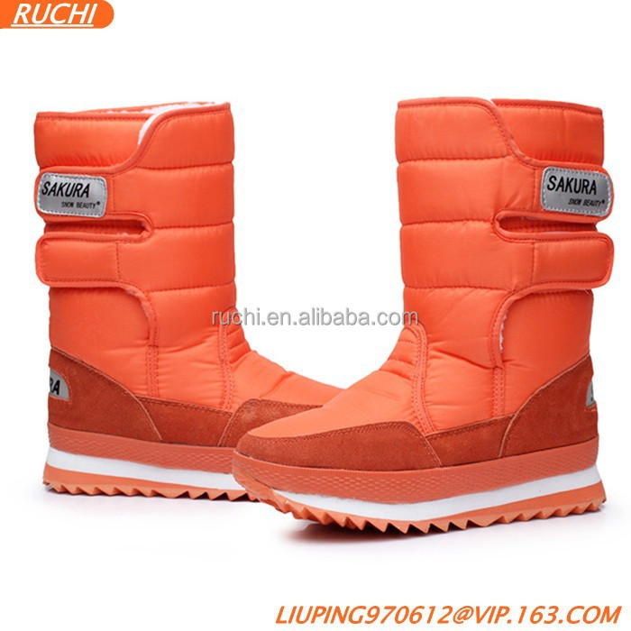 2015 Russia name brand women/girls winter snows boots