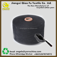 Recycled cotton polyester mop yarn in rolls for market