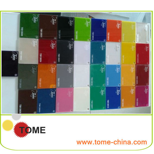 heat resistant plastic acrylic sheet make in china