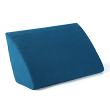 Designer Multi Function Lumbar Support Pillow Bed Foam Triangle Cushion Backrest Cushion For Sofa