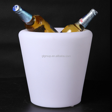 Plastic LED ice bucket , new fashion product for bar, party modern outdoor furniture