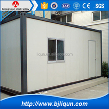2016 factory price steel structure hotel building easy build houses folding container house