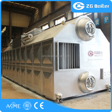 China professional boiler manufacture supply stea horizontal chain szl boiler price