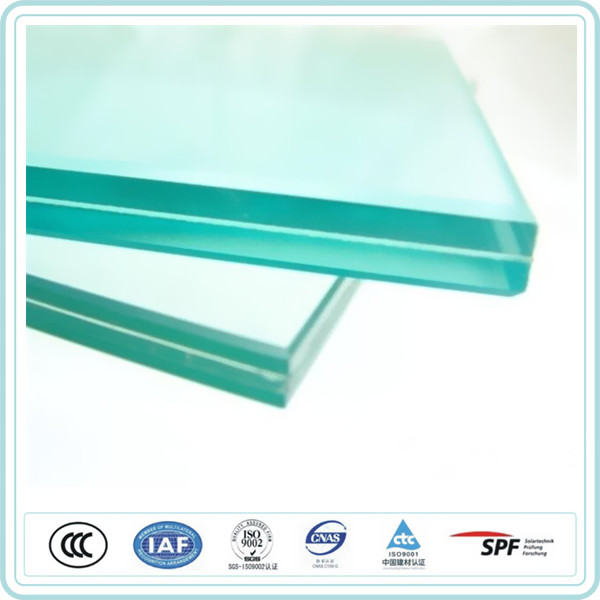 Good quality 6.38mm clear laminated glass price