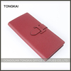 hot selling factory direct high quality orange belt clip leather wallet for Women