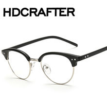 Fashion Optical Glasses Spectacle Frame For Men Women Glasses With Clear Glass Male Female Clear Transparent Glasses