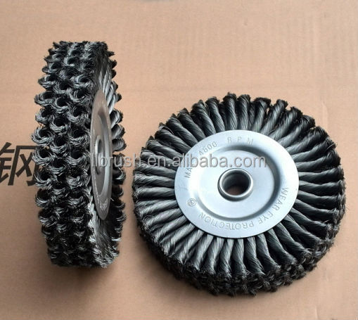 200mm outside Steel wire wire wheel brush
