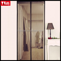 Magnetic Screen Door KEEP BUGS OUT Lets Fresh Air In. No More Mosquitos or Flying Insects, Hands-Free Bug-Proof mesh Curtain