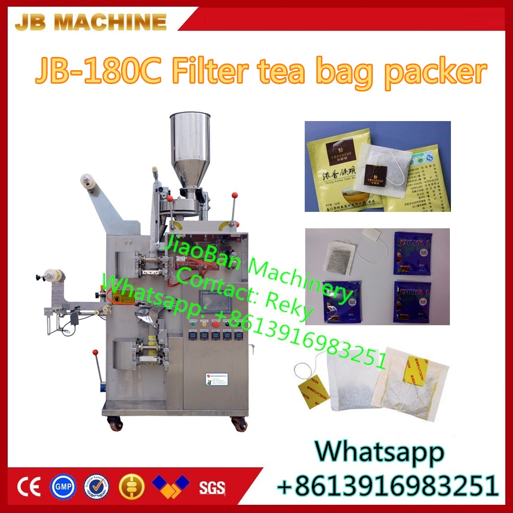 JB-180C Automatic filter tea bag packer, small tea bag packing machine