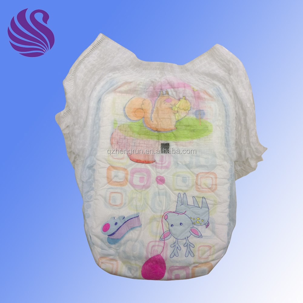 Hot Sale Panty Type Baby Diapers Cloth Like Baby Training Pants iapers