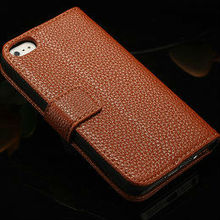 new pattern two \'tone\'leather case for iphone 5\/5s with card slot