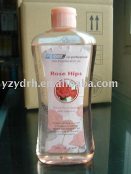 body oil ,Natural rose essence with Vitamin-E