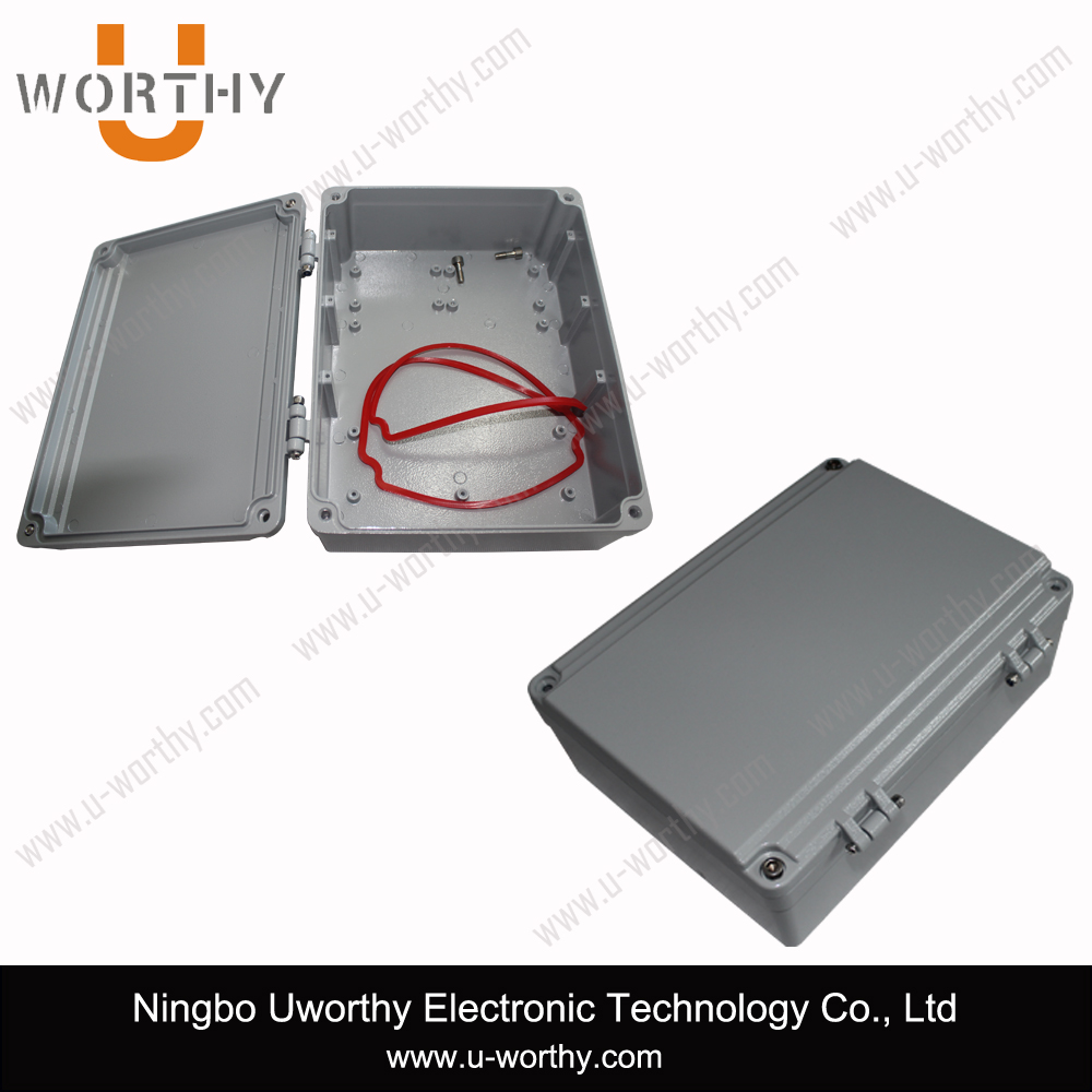 Aluminum Watertight Electrical Distribution Box 250*191*86 mm