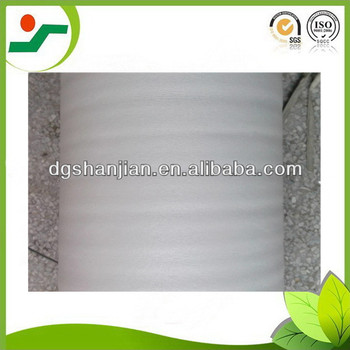 high density white epe foam roll