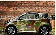 NEW PRODUCT green camouflage car vinyl wrap machine vinyl sticker